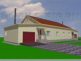 Проект дома Т-01-101