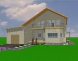 Проект дома Т-02-102