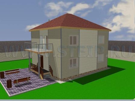 Проект дома М-02-102