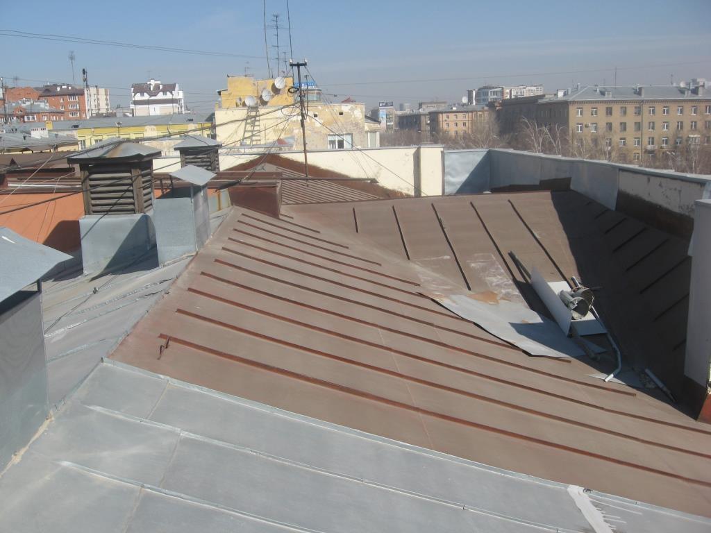 Экспертиза крыши